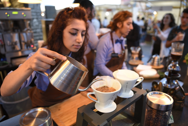 Ankara Coffee Festival Bilkent Center'da