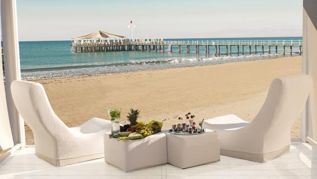 Calista Luxury Resort'te lüks ve estetik kaliteyle buluşuyor