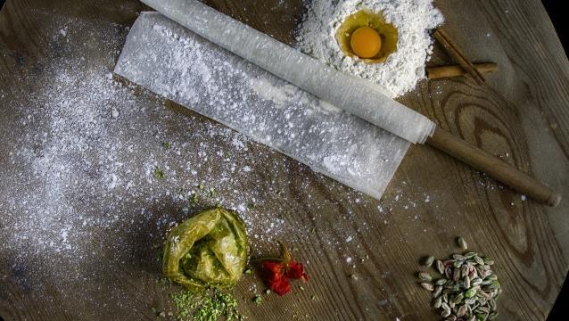 Gaziantep Mutfak Sanatları Merkezi'nde, lezzetli yemekler ve eğitim bir arada