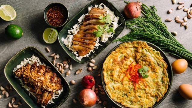 İstanbul Marriott Hotel Şişli'de Tay şeften Tayland yemekleri