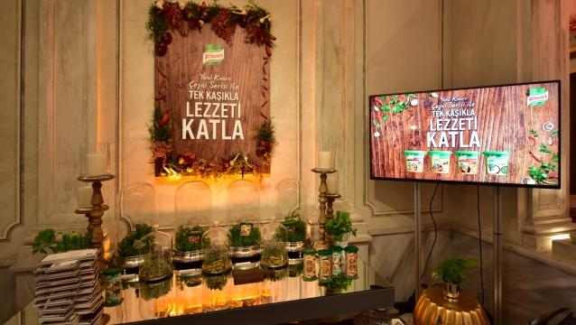 Knorr Sofrası, yeni çeşnilerle lezzeti katlıyor