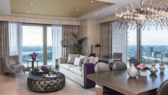 Raffles İstanbul Residences; 5 yıldızlı otel konforu ve ev rahatlığı bir arada