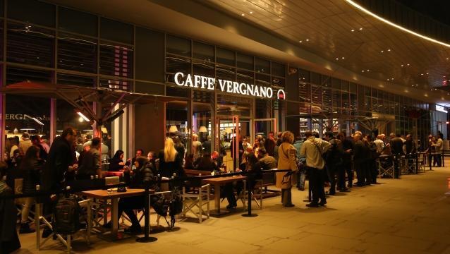 Şehrin iddialı İtalyanı Caffe Vergnano 42 açıldı