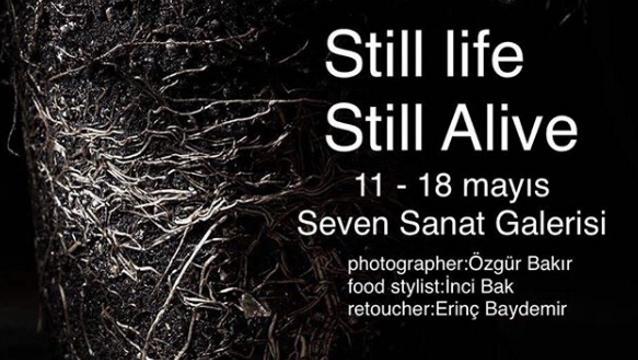 Yemeğe dönüşebilen her şeyin fotoğrafları sıra dışı bu sergide; 'Still life Still Alive'